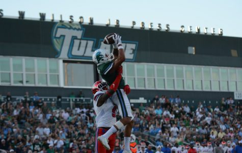 Green Wave gives up 10-point lead, loses to SMU 35-31 in homecoming game