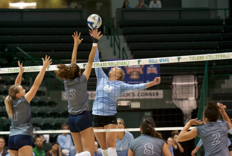 Volleyball serves up dual sport athletes