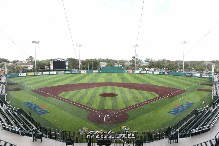 Built in 2008, Greer Field at Turchin stadium has been home to the Green Wave baseball team for nearly a decade. In preparation for the 2017 stadium, the field has been newly renovated to display the newly revived Angry Wave logo.