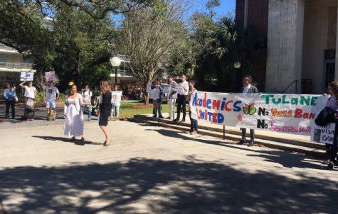 Tulane students unite against President Trump's visa and immigration ban