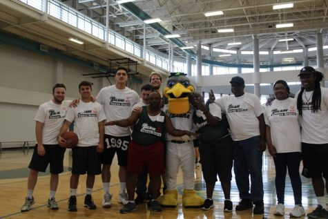 Tulane athletes participate in Special Olympics Clinic