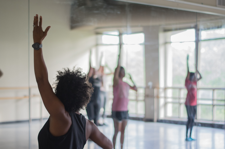 Jazz Dance II is one of the many classes available to Tulane students who seek a curriculum beyond the general education courses.