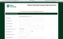 Student affairs concerns form allows students to report incidents