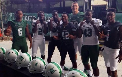 Green Wave football debuts new look