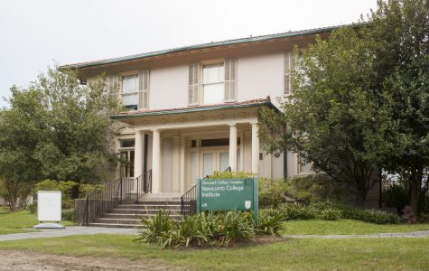 The Newcomb College Institute house is located at 44 Newcomb Blvd. The demolition of the building to make way for a four-story dining and office complex has been postponed after the university withdrew its demolition permits.