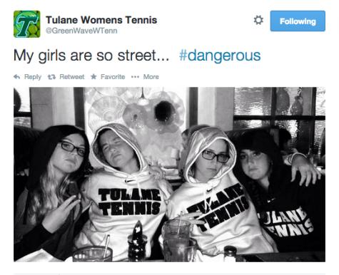 Why you should follow the Tulane women's tennis Twitter