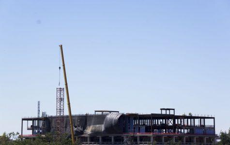 Howard-Tilton Memorial Library crane to be disassembled