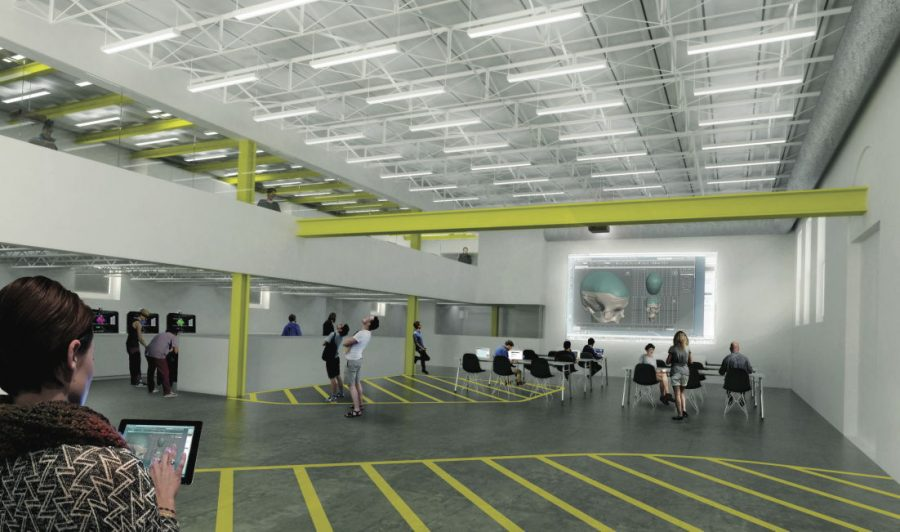 Proposed plan for maker space