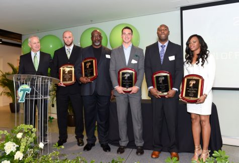 Five former Green Wave athletes honored into Tulane Hall of Fame