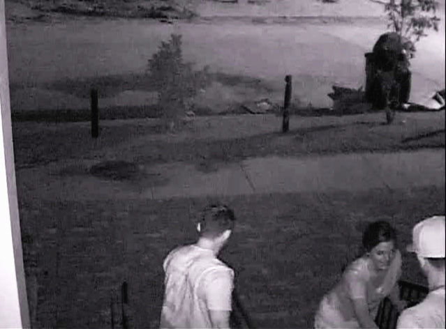 Video surveillance footage shows two men and one woman, who stole $3,500 worth of composite pictures on Aug. 23 from the Kappa Alpha fraternity house at 1036 Audubon St.