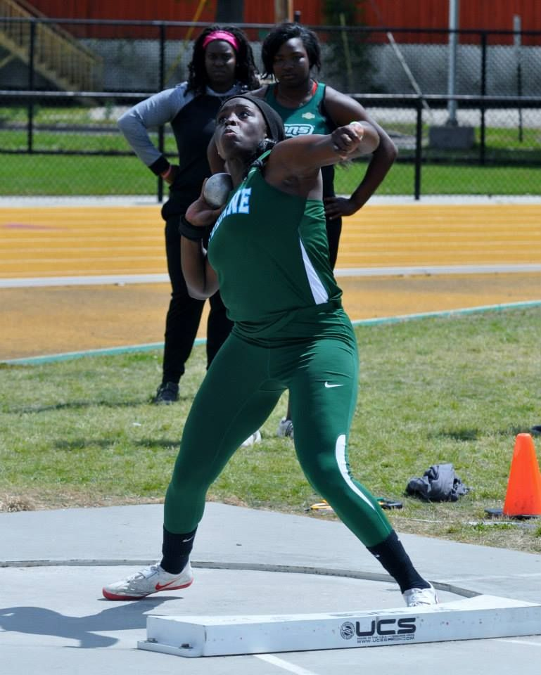 Sophomore Taylor Pottsrecorded a throw of 15.27 meters (50-1.25) toset the school record in the shot put at the LSU Battle on the Bayou meet Saturday in Baton Rogue, La.
