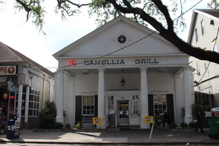 The famous Camellia Grill on South Carrollton. This diner has served the Crescent City since 1946.