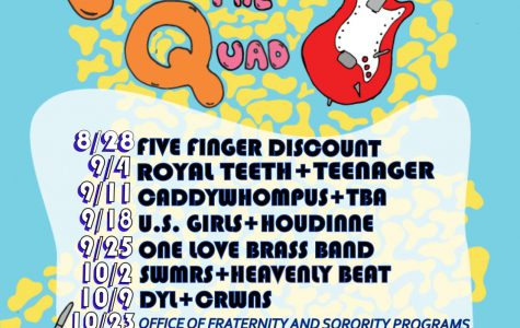 Fridays at the Quad is new and improved with a planned schedule and a wider variety of artists.