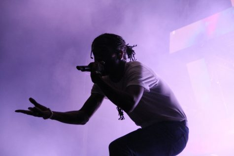 A$AP Rocky brought his Mob with him Thursday Oct. 8 at Champions Square. Other acts for the concert included Vince Staples, Danny Brown and Tyler the Creator.