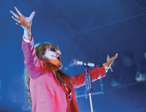 Florence + Machine put on an explosive performance Oct. 30 for the first day of Voodoo Music and Arts Experience.