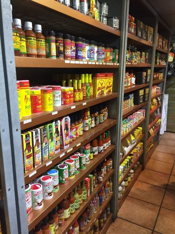 The World Famous N'awlins Café and Spice Emporium on North Peters has a wide selection of culinary gifts.