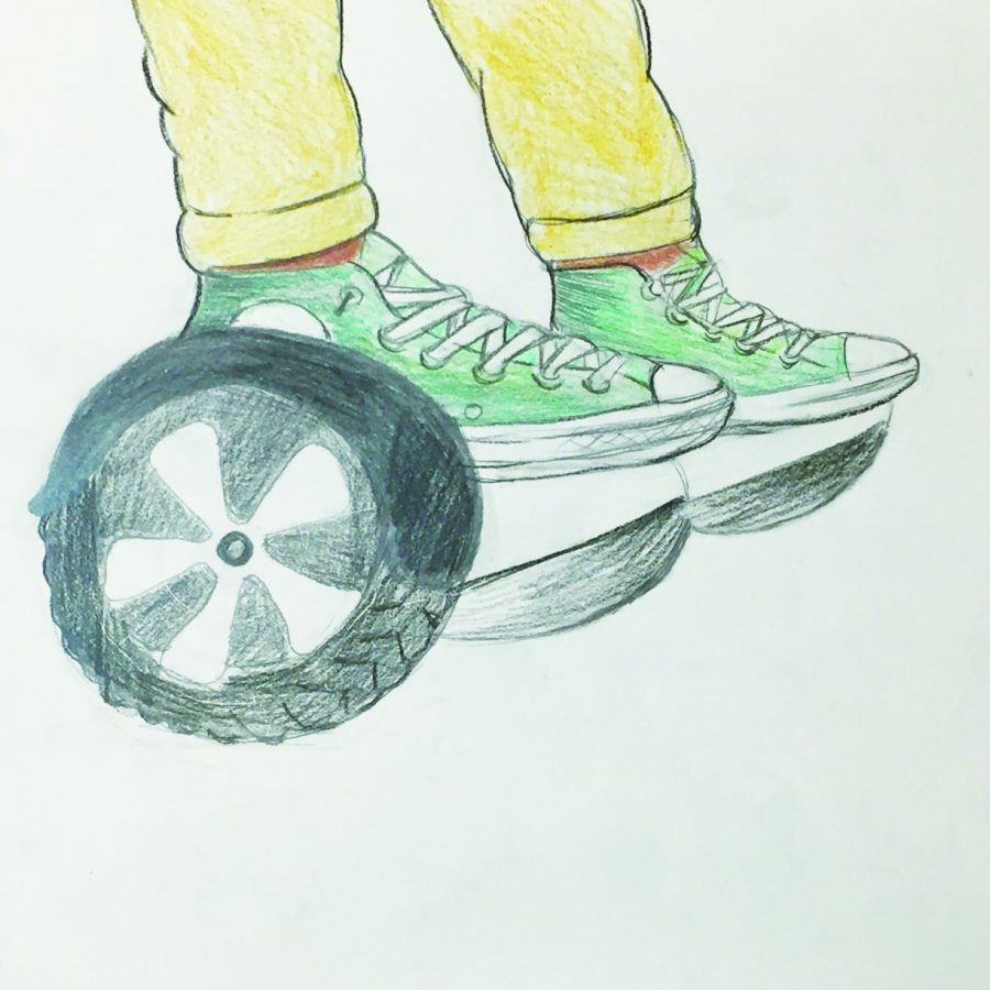Hoverboards banned in university buildings