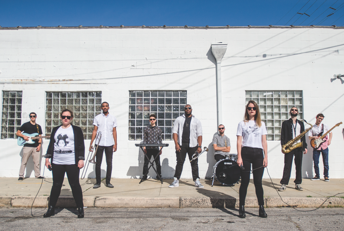 After a transitory period, funk bandMiss Mojorevealed its new name, several newmembers and afreshsound. The group is comprised of nine musicians, including Tulane students and alum.