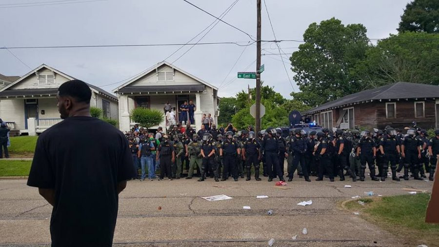 In response the the shootings of Philando Castille and Alton Sterling, protests were held in solidarity with Black Lives Matter in Baton Rouge.