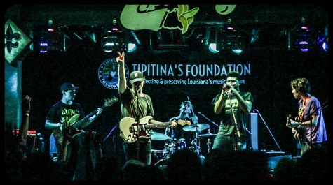 The band consisting of Tulane students performed as the first show for Tipitina's Homegrown Concert Series.