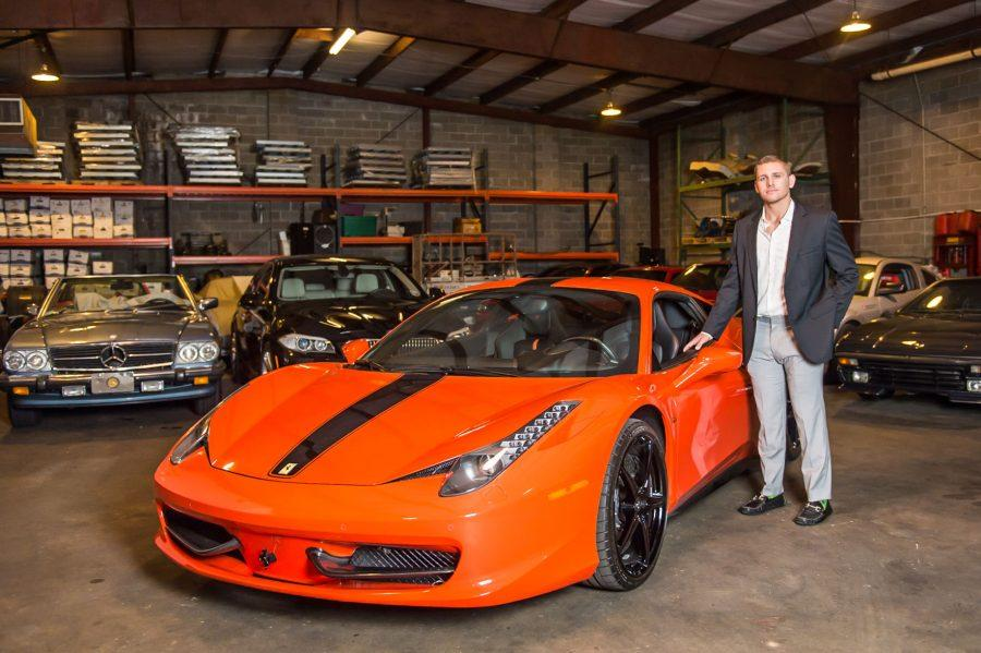Michael+Lizanich%2C+former+deep+snapper+for+the+Green+Wave%2C+is+the+current+owner+of+Motorsports+Garage%2C+a+New+Orleans+business+dedicated+to+storing+and+managing+luxury+vehicles.