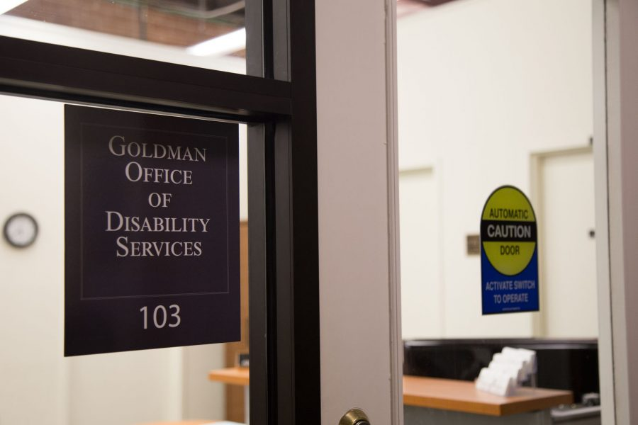 The+Goldman+Center+for+Student+Accessibility+formerly+known+as+The+Goldman+Office+of+Disability+Services+offers+resources+and+help+to+accommodate+students+and+their+needs.+The+office+recently+underwent+several+changes.