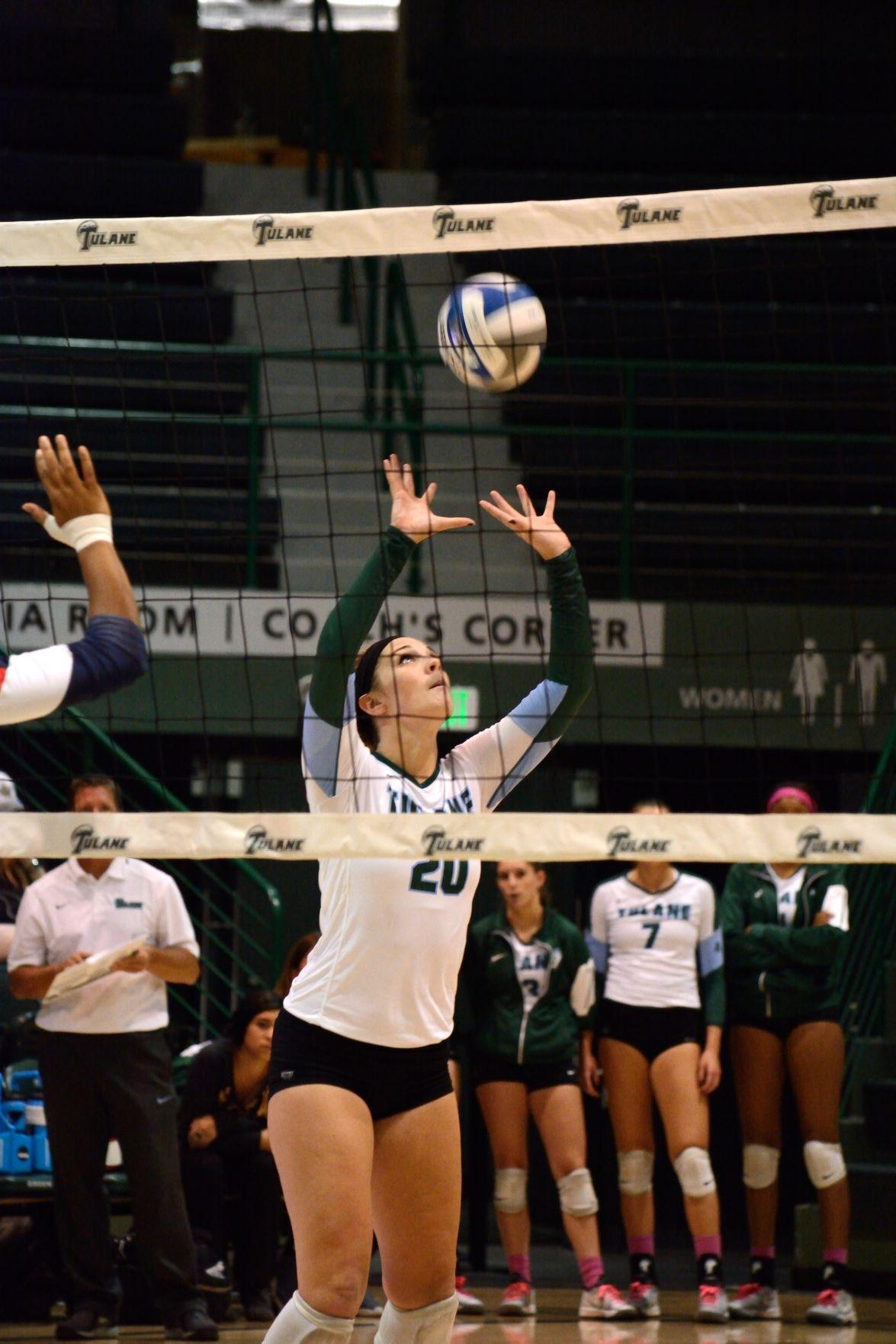 The Green Wave swept the UCF Knights this past weekend, the team's first conference sweep since Nov. 15, 2013.