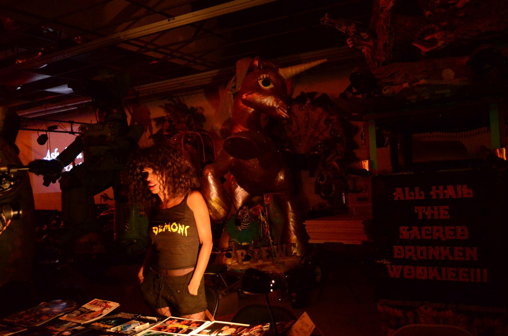 NOLA Horror Film Fest attracted globally recognized talent such as actress Geretta Geretta (above).
