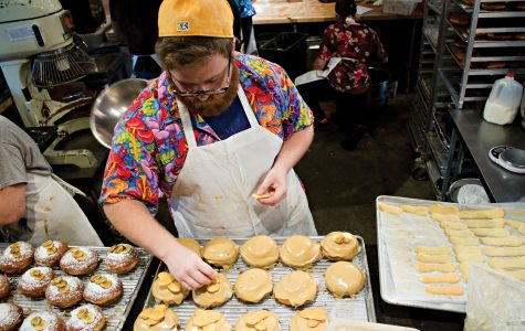 Dreams of dough: student Jonah Resnick balances studying with baking