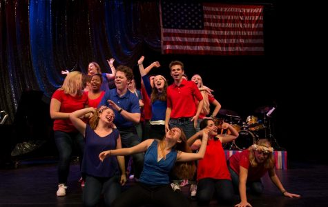 'Let's Get Political — A Broadway Revue' allows attendees to escape the election, seek peace through performance
