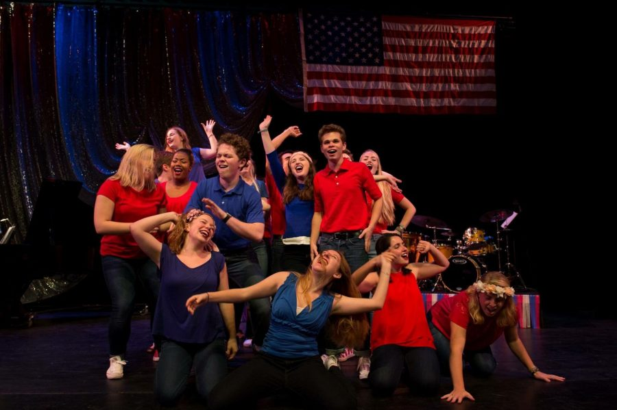 The+cast+of+the+Musical+Theatre+Workshop+performed+%E2%80%9CLet%E2%80%99s+Get+Political%3A+A+Broadway+Revue%E2%80%9D+on+Nov.+4+and+5+at+Dixon+Hall.%C2%A0%C2%A0