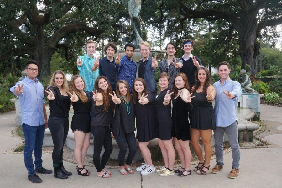 TU Tones, Tulane's newest a cappella group, was founded on campus in September.