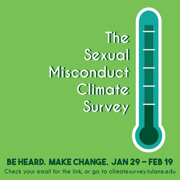 Climate survey gathers data surrounding sexual assault