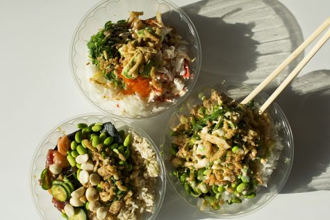 Restaurants like Poke Loa offer students restaurant options around campus.