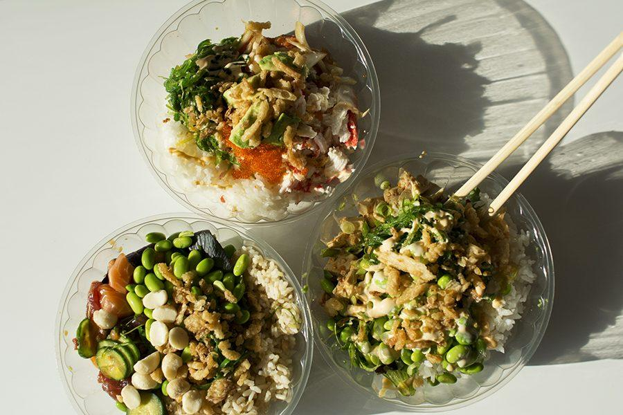 Poke+Loa+held+a+soft+open+Friday%2C+Feb.+10%2C+offering+the+fast-casual+fish+dish+for+diners+to+test+before+the+grand+opening+after+Mardi+Gras.+Poke+Loa+is+among+the+first+to+bring+the+trendy+food+fad+to+New+Orleans.