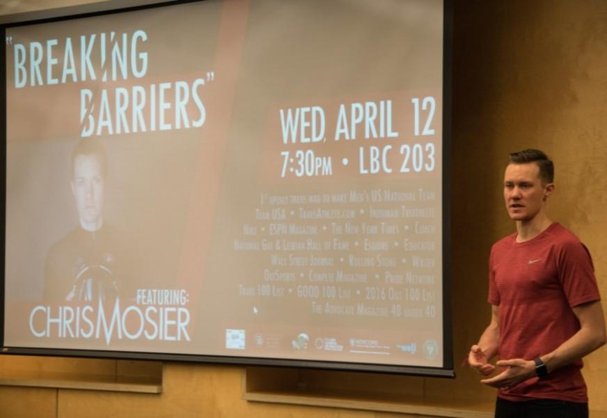 Trans athlete Chris Mosier breaks barriers