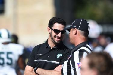 Jake Stone lives football dream as graduate assistant