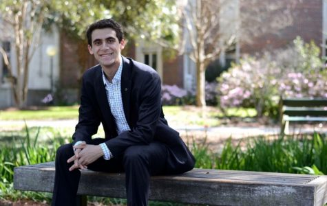 Junior Sam Levin will serve as the USG president for the 2017-18 academic year. He said he will focus on increasing mental health resources and combating sexual violence at Tulane.