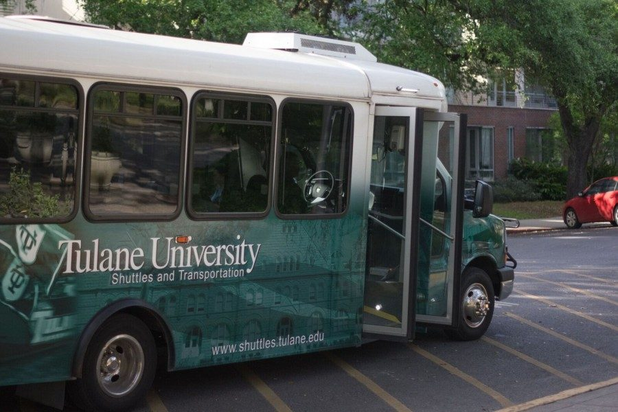 The Tulane shuttle system is available to students, staff and faculty. The service was unavailable to contracted workers for more than a year but was reinstated in February.