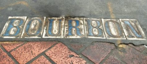 Located in New Orleans' French Quarter, Bourbon Street is a popular location for tourists and home to many bars and a vibrant nightlife.
