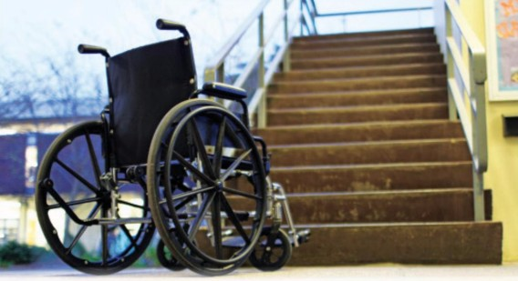 Disabled students navigate campus accessibility issues