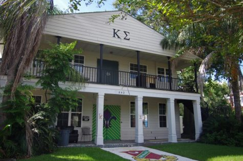 Alpha Delta Pi is negotating a lease with Kappa Sigma Housing Corporation for Kappa Sigma's former house on Broadway Street.