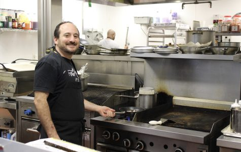 Chef Daniel Esses opened Rimon at The Goldie and Morris Mintz Center for Jewish Life this month. The  menu includes healthy, affordable, locally produced, Kosher food.