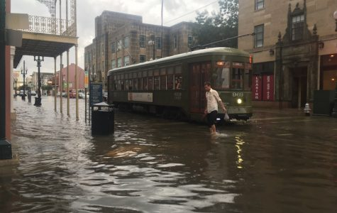 Faulty drainage leaves CBD and Mid-City under stagnant water
