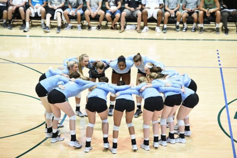 The Tulane volleyball program hosted it's annual Olive and Blue scrimmage Aug. 19. The team includes six freshman, after graduating five seniors and losing two players to injury.