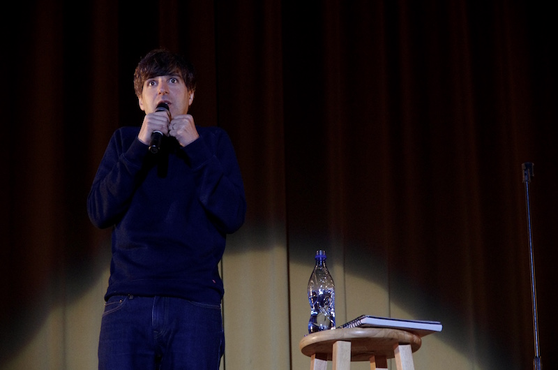 Demetri Martin performs at McAlister Auditorium on August 31st.