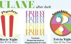 Tulane After Dark programs provide weekend options beyond Broadway