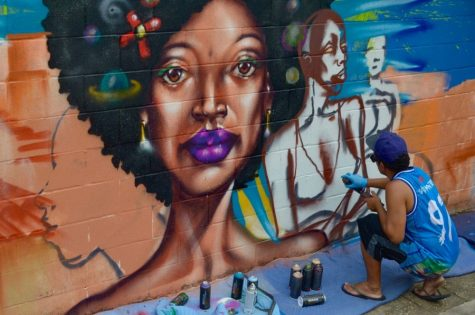 Painting for the People: Grupo Opni blends Brazilian culture with graffiti art