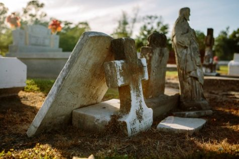 Cornelius Hawkins' gravesite is pictured at the Immaculate Heart of Mary Cemetery in Maringouin, LA. Hawkins was born in 1825, was sold in 1838 and died in 1902.