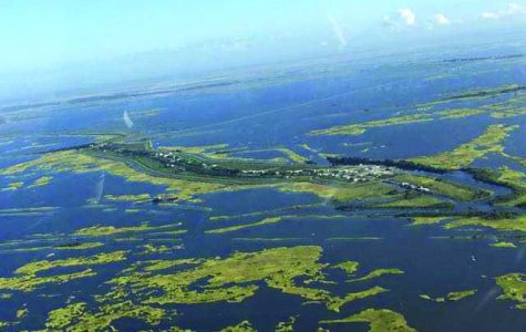 Population displaced, culture affected by coastal land loss of Isle de Jean Charles